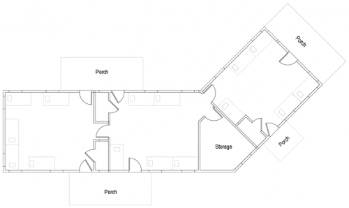 Blueprint of Cabin