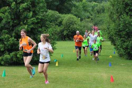 5K trail run - 2017