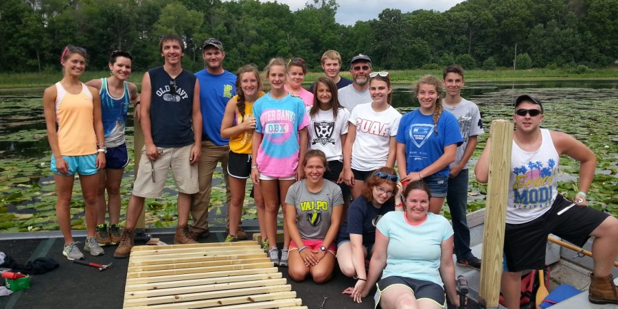 Servant event group at Petty Pond
