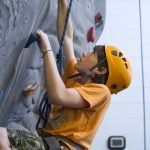 Looking for the best route while rock climbing