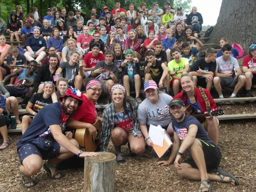 ReGroup Campers enjoying Ebenezer