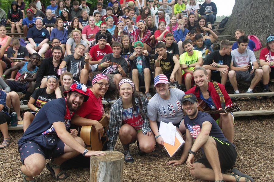 ReGroup Campers enjoying Ebenezer
